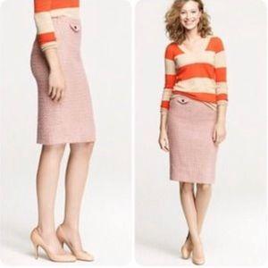 J.Crew No. 2 pencil skirt in vintage tweed